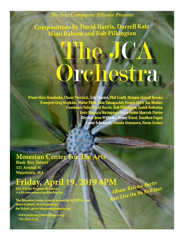 JCA Orchestra at Mosesian Center For The Arts on April 19