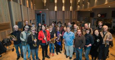 JCA Orchestra-12/3/2016 recording session