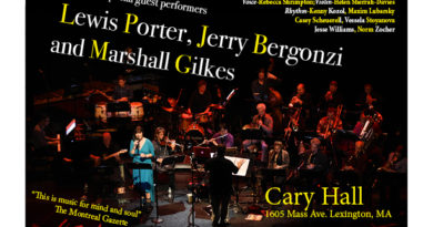JCA Orchestra with Lewis Porter, Jerry Bergonzi and Marshall Gilkes